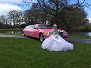 Limousine bruidsarrangement 1
