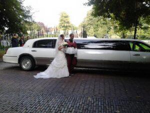 Limousine bruidsarrangement 3