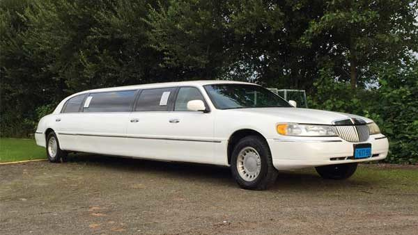 Witte Limousine